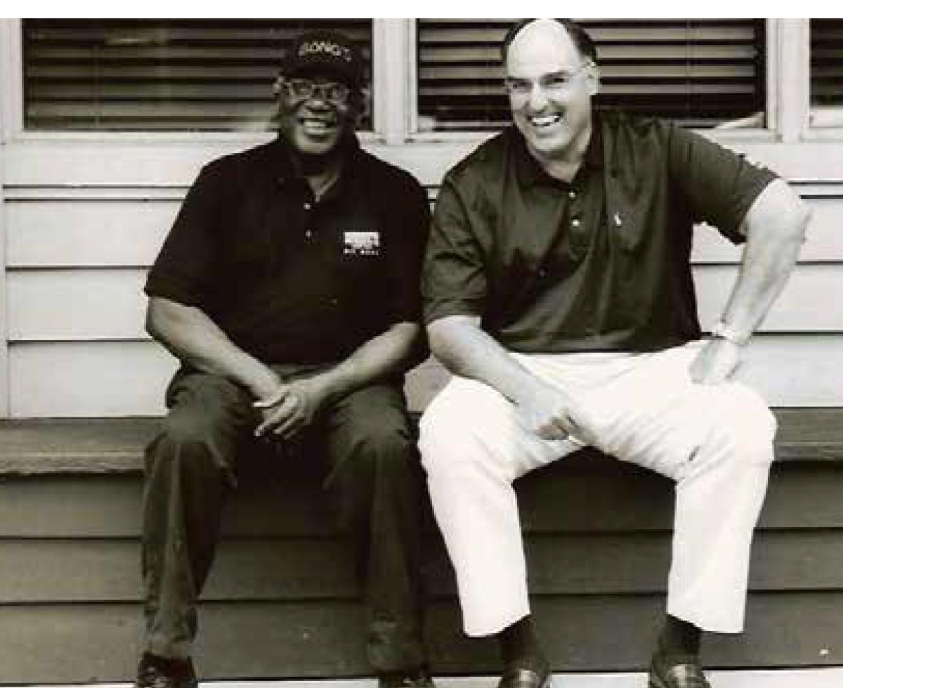 Photo of Harvey Green and Joe Adeeb.