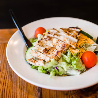 Crisp Grilled Chicken Salad